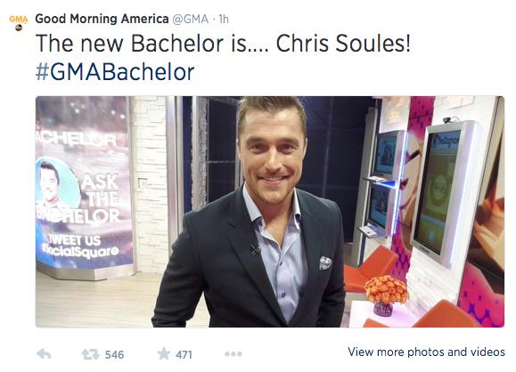 Bachelor Chris