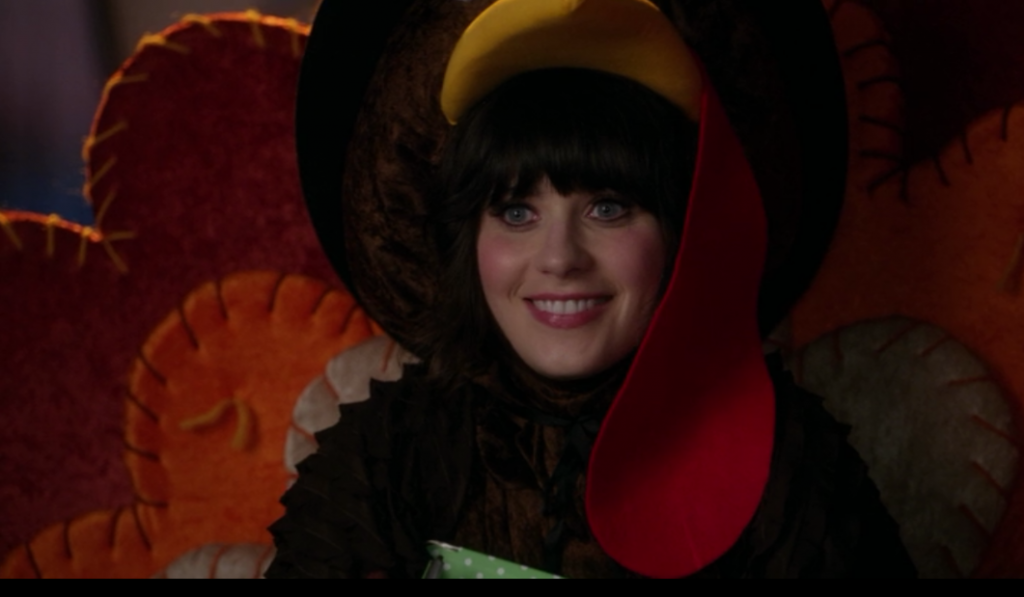 funny entertainment blog-New Girl Thanksgiving Cover