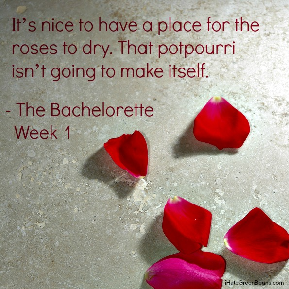 Bachelorette Week 1