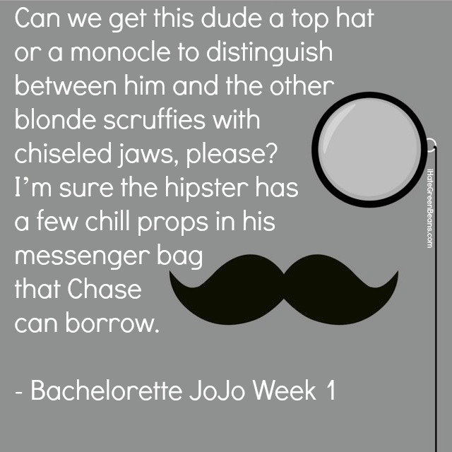 Bachelorette JoJo Week 1
