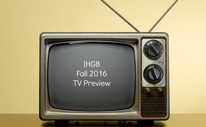 Fall 2016 TV