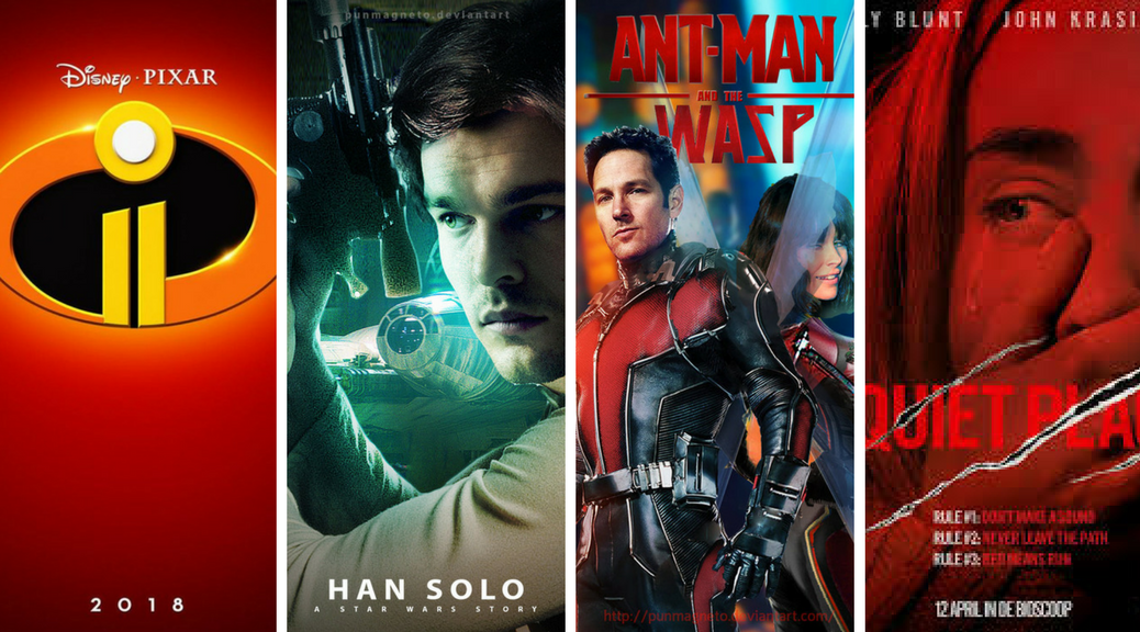Summer Movies 2018 Posters: IHGB Podcast 44: Spring And Summer Movies 2018
