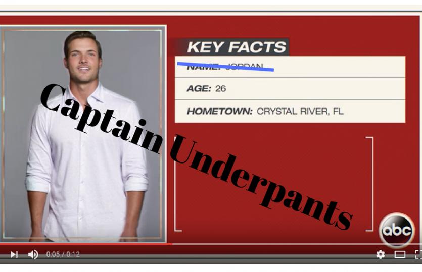 Bachelorette Becca Recap: Captain Underpants